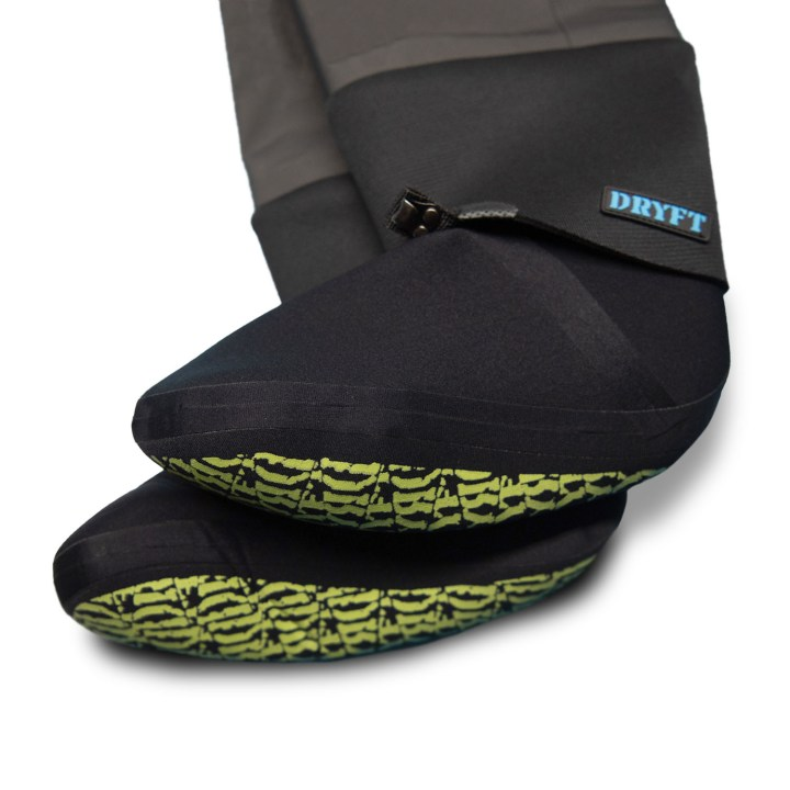 DRYFT Primo Zip GD Waders stockingfeet