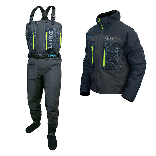 Primo GD Zip wader and Primo Wading jacket bundle