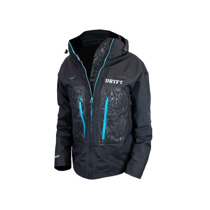 DRYFT Primo Rain Jacket mens front unzipped