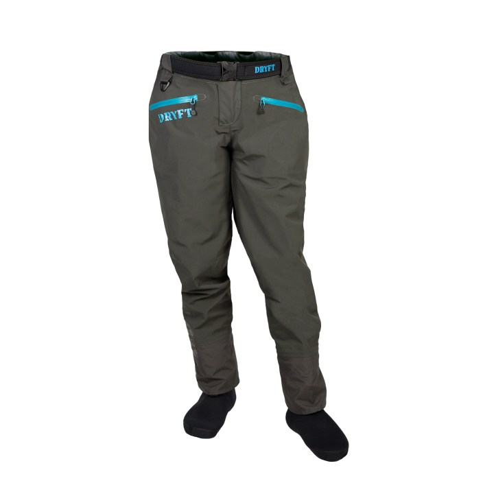DRYFT women's Session wading pants front