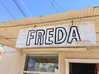 ...by Freda, the nice woman working inside