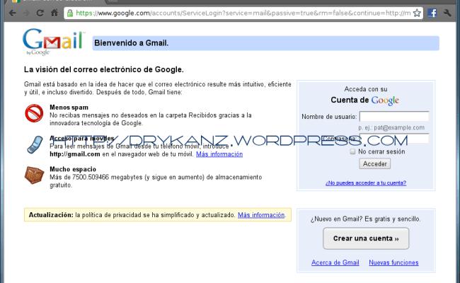 Gmail Un Blog De Todo