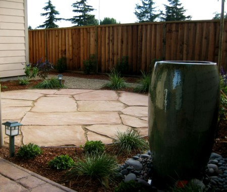 Arizona peach flagstone patio