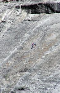 Climbers on Pywiack Dome