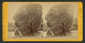 Glacial Erratics at Lake Tenaya, by Edward Muybridge c. 1870