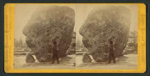 Glacial Erratics at Lake Tenaya, by Edward Muybridge c. 1870