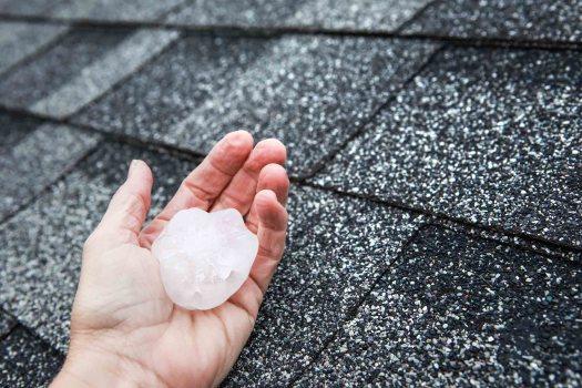 Hail damage - Storm Damage - Hail Damage Dayton OH - DryTech Exteriors