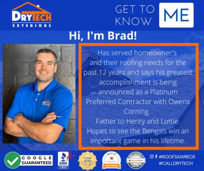 Hi, I'm Brad!