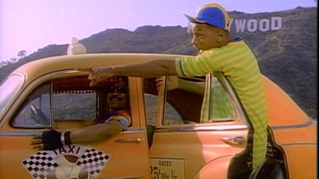 Prince de bel air en taxis
