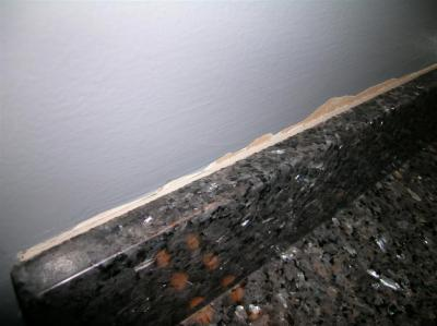 Bathroom Drywall Damage