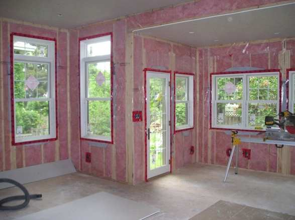insulation vapour barrier