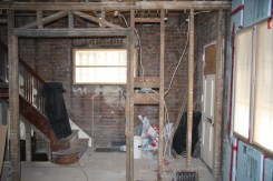 4 Staircase After Demolition
