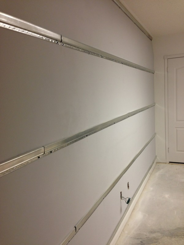 Drywall Resilient Channel Installation
