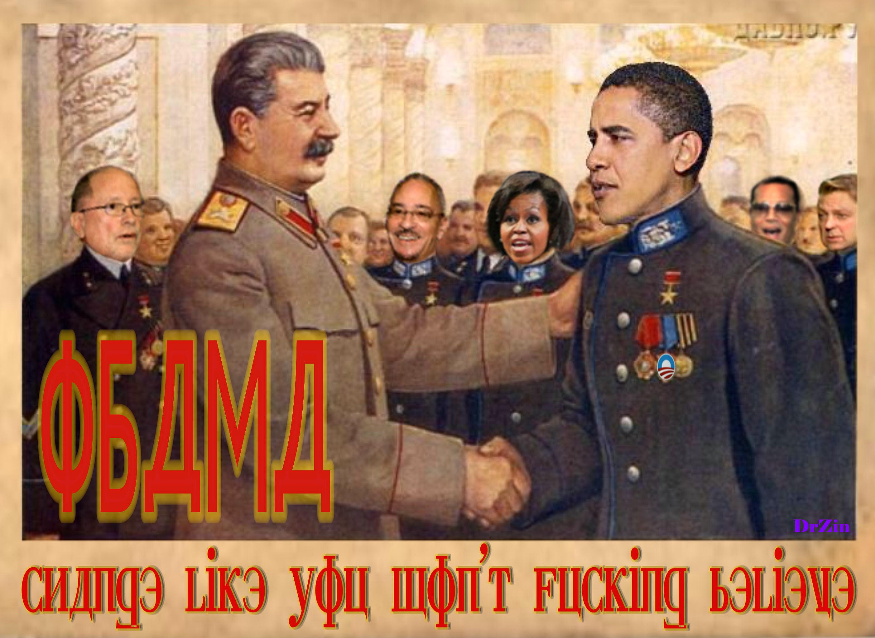 Stalin And Obamau0027s Cabinet