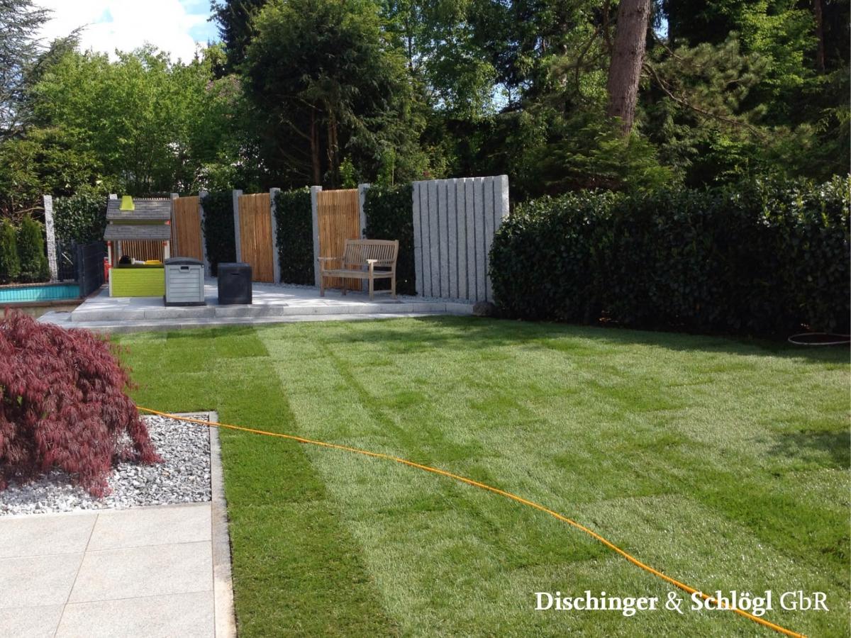 Gartengestaltung Granit