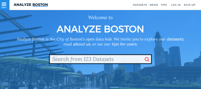 City of Boston data