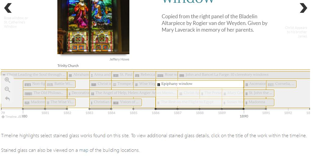 Creating a Timeline with TimelineJS and JSON – Boston College