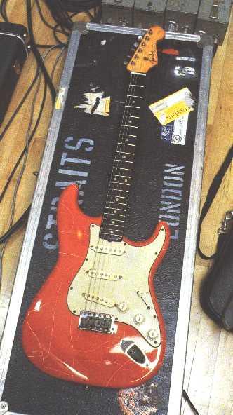 Mark Knopflers Fender Stratocaster 68354