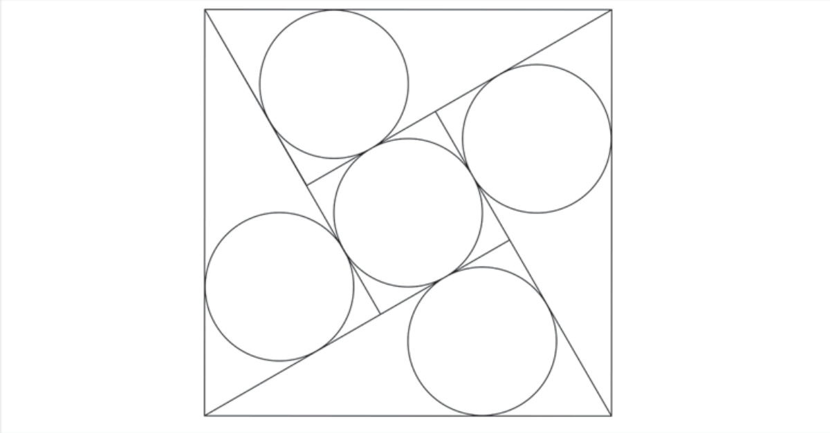 Geometry Problem on Circumcircle of Triangle: Circles in a
