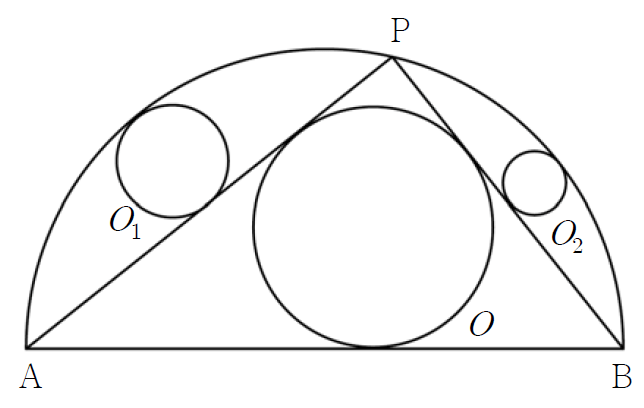 Geometry Problem on Inscribed and Circumscribed Figures