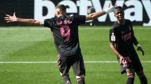 Real win doubled with Benzema at Celta Vigo
