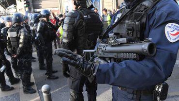 Gilets jaunes: plus de 13.000 tirs de LBD depuis le début du mouvement en France
