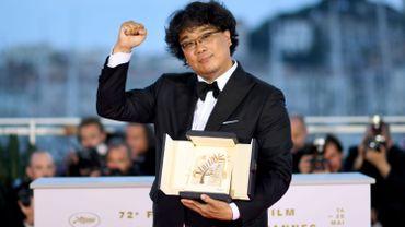 Le réalisateur coréen Bong Joon-Ho remporte la Palme d'or 2019