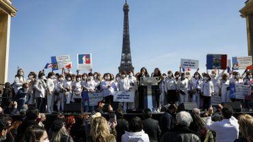 """France: plusieurs milliers de manifestants pour réclamer """"justice pour Sarah Halimi"""""""