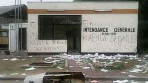 En septembre déjà, les étudiants de l'université de Kinshasa avaient manifesté leur colère à l'encontre du président Joseph Kabila.
