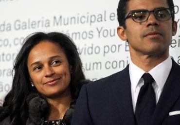 Qui est Sindika Dokolo et son épouse, Isabel dos Santos.