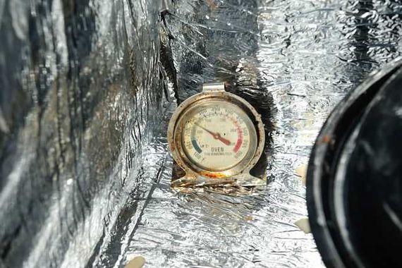 Une bonne température à l'intérieur du four