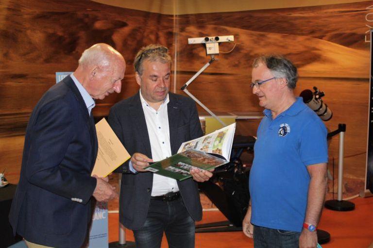 Dirk Frimout, Jarbinet et P.-E. Paulis