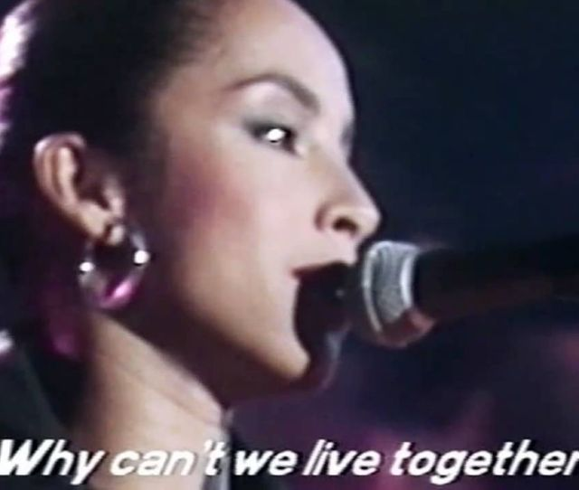 Sade Why Cant We Live Together Montreux Jazz Festival 1984