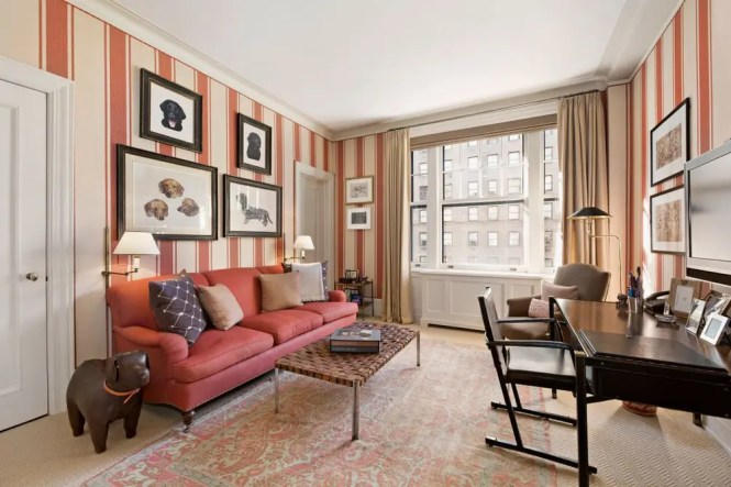 Photos Park Avenue Apartment Linked To Barbara Walters