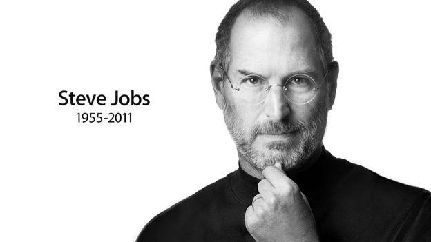 """La """"une"""" du site d'Apple rend un hommage sobre à Steve Jobs"""
