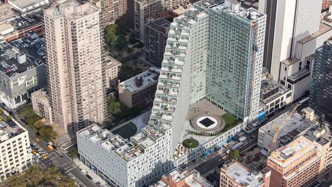 Mercedes House 550 West 54th Street Nyc Al Apartments Cityrealty