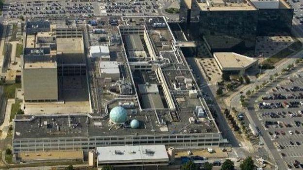 Les locaux de l'Agence nationale de sécurité (NSA) vus du ciel, le 31 mai 2006 à Fort Meade (Maryland)