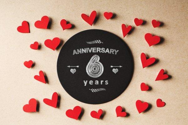 unique 6 year anniversary