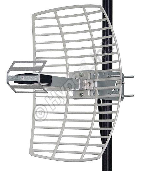 Antena Parrilla de 15 dBi 2.4 GHz de Alta Performance