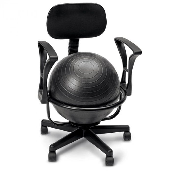 ergonomic chair without arms ikea dining covers grey cando metal ball chairs - positioning gross motor play early childhood