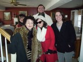 I love my family. (clockwise) My mother, me, sister Gina, sister Josie and grandmother.