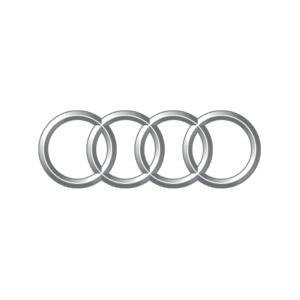 Audi's brand logo.