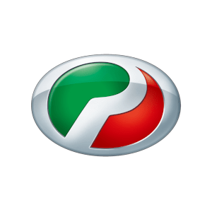 Perodua's brand logo.