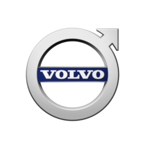 Volvo's brand logo.