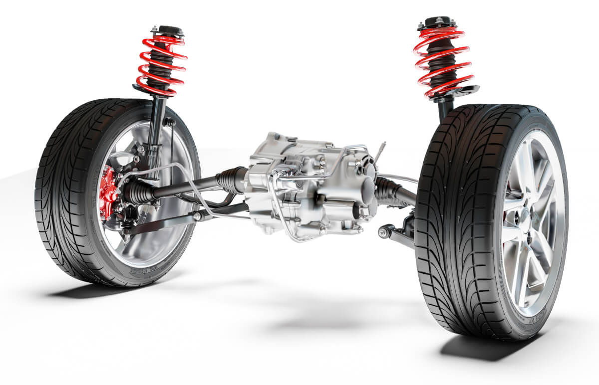 Our drive shafts are usually found at the front of our car, attached to our car tyres and gearbox.