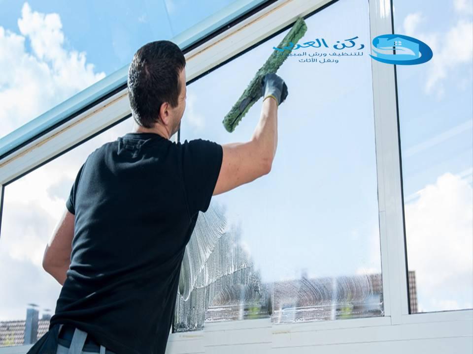 شركة تنظيف واجهات زجاج بالبدائع 0533942977