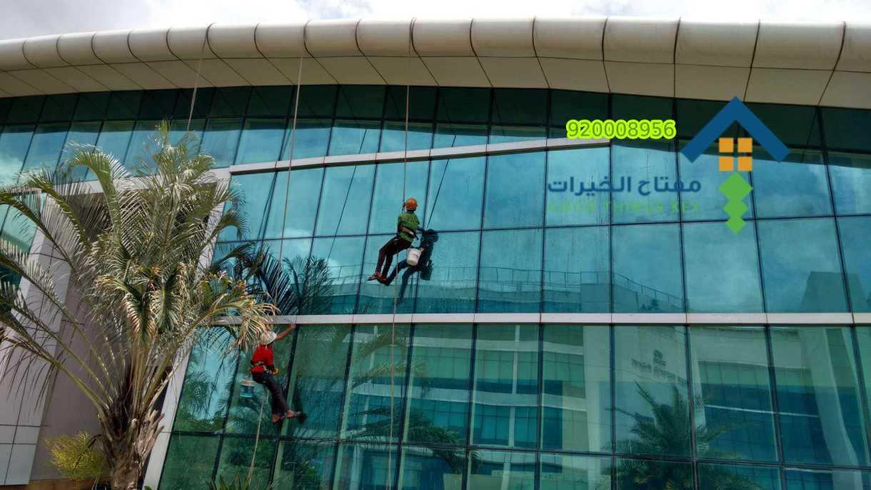 شركة تنظيف واجهات كلادينج غرب الرياض