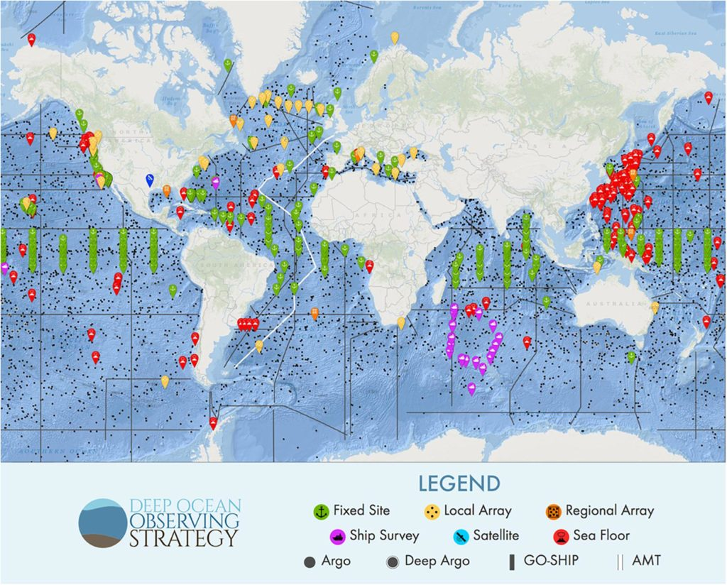Global Observing Needs In The Deep Ocean Dsbs