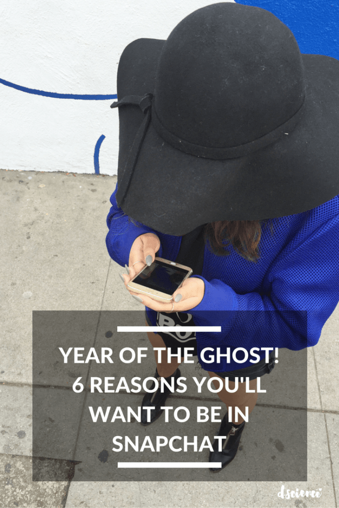 year of the ghost! 6 reasons you'll want to be in snapchat