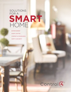 Solutions for a Smart Home brochure